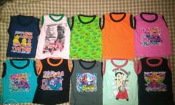 Set of 10 tops kids wear from 1 to 3 years