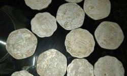 set of 13 old coins