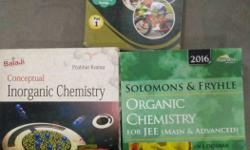 Set of 3 books essential for acing JEE exams. Consists