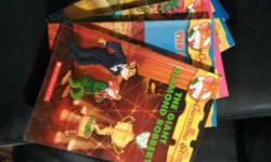 Set of 5 Geronimo Stilton books in good condition. The