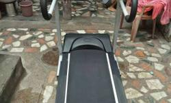 sharp 999 treadmill for good condition 1,5 year old but