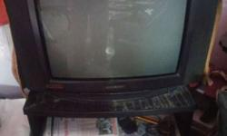 sharp crt tv in working condition