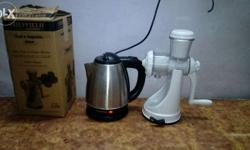 SHEFIELD'S wireless electric kettle and fruit &
