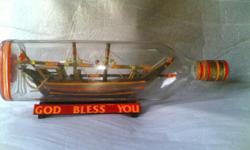 we have miniature ship inside bottle for sale in India