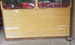 Shop counter table with rack in good condition like