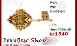 Original Kuber Kunji Package Includes: 1. Gold Plated