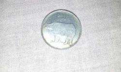 Silver 25 Indian Paise Coin
