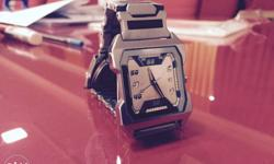 Silver Analog Watch