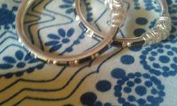 Silver bangle for babies brand new with bill