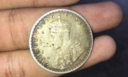 Silver Brass Round Coin 99yrs old