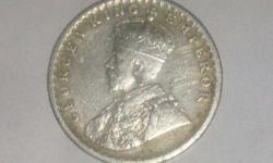 Silver George King Emperor Coin