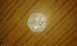 Silver Indian Paise Coin