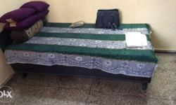 Single Bed in Good Condition with Mattress