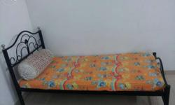 Single Bed (3*6) without box with Mattress.