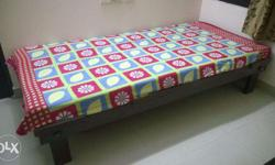 Single Bed available with mattress. Dimension (L*W*H)