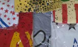 six colours t shirt for boys...stock clearance packet