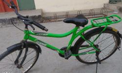 Sk Bikes Gang Catcher Cycle Parrot Green , 2 Year Old ,