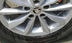 I have 4 alloys brand new skoda octavia latest face