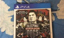 Sleeping Dogs PS4 Codes unused..