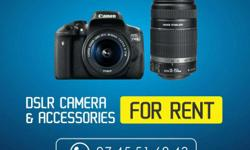 *CANON EOS 700D DSLR CAMERA FOR RENT* camera with 18-55