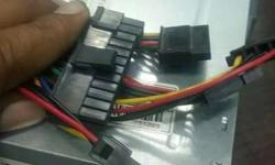 Black Main Power Connector