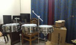 snare,timples,bongos,snare stand,boomstand, brand (db
