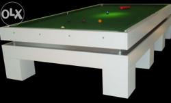 Brand: Rolling Stones Type: Snooker Table Table made of