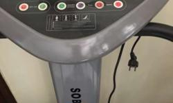 SOBO crazy fit massager vibrator machine for Home Gym