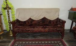 ONE SOFA SET IN GOOD CONDITION FOR SALE AT KARIKODE,