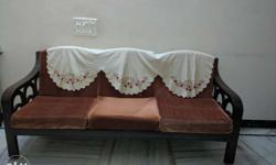*Three + Two Seater Sofa Set* Very Good Wood Quality*