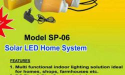Solar Home.lighting Systems -2/3 Led With Mobile