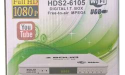 Solid 6105 Full HD DTH Free to Air DD Freedish, Solid
