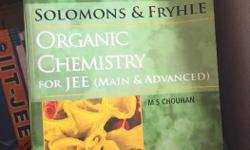 Solomons & Fryhle Organic Chemistry for JEE mains &