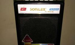Very good condition black Sonilex Portable