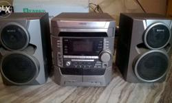 sony 3 cd changer,karoke system,aux wire system, 2