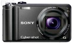 Sony DSC-H55 camera that has a larger 20x optical zoom.