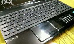 sony e series laptop for sale with 4gb ram 500gb