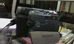 Very good condition Sony TRV 22 handy cam made in Japan