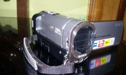 For sale Sony Handycam with carry bag & all attachments