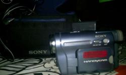 Sony Handycam in very good condition