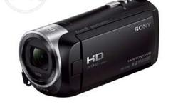 brand new Sony handycam which is only 2 month old,
