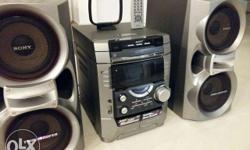 sony mhc vx 99 6000 watts in exxellent condition with