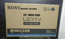 "Sony LED TV full hd led tv with warranty 32"" inch"