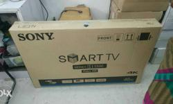 Sony Malaysian import tv 43 inch smart tv 1 year