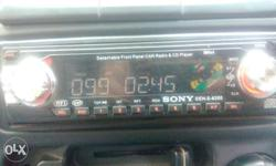 Sony original music system for car good condition