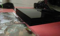 Sony playstation2 Super Slim Charcoal Black colour in