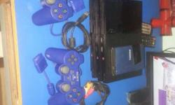 Sony Playstation 2 hard drive and games plus