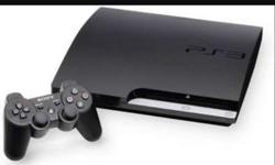 Sony PlayStation 3 in very good condition up for grabs