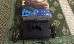 2 years old original Sony Playstation 3 (100GB) with 1