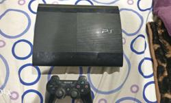 Sony PlayStation 3 slim version . 1.5 years old.